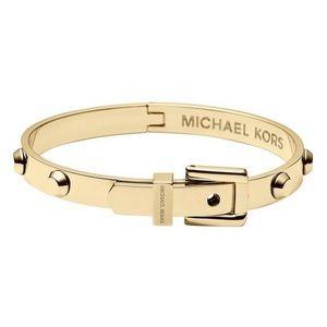 Michael Kors Buckle Bracelet Gold